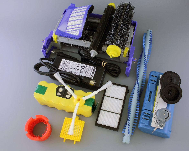 enkele onderdelen voor iRobot Roomba en Scooba
