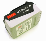 Li-ion battery, 4000 mAh, 20V, for Black&Decker powertools_