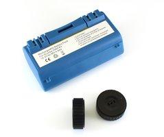 NiMh batterij 4800 mAh voor Scooba (385, 5800, etc) met 2 wieltjes voor iRobot Scooba