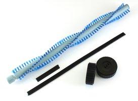 Onderhoudskit voor iRobot Scooba bestaande uit 2 wieltjes, een borstel en 2 rubberrandjes
