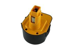 NiMh accu/batterij, 3000 mAh, 12V, vervanging voor Dewalt DC9071, DE9072, DE9073, DE9074, DE9075 en DW9071
