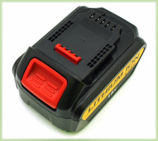Batterie au lithium, 4000 mAh, 18V pour outils à batterie Dewalt XR
