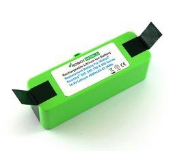 Li-ion, Lithium NMC accu, batterij voor Roomba 500-600-700-800-900 reeks, 4400 mAh