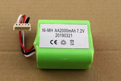 NiMh accu, batterij, 2000 mAh, voor Braava 380 en 390