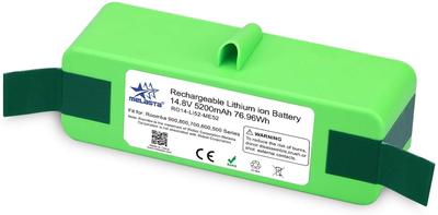 Melasta Li-ion 5200 mAh batterij, accu