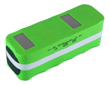 NiMh accu, batterij, 3500 mAh, voor Infinuovo CleanMate QQ-1, QQ-2, etc.