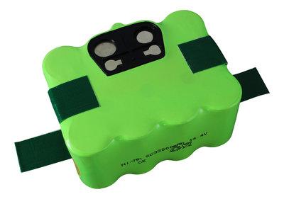NiMh accu, batterij, 3300 mAh, Indream 9200-9300, Hoover RBC, Samba XR210, etc.
