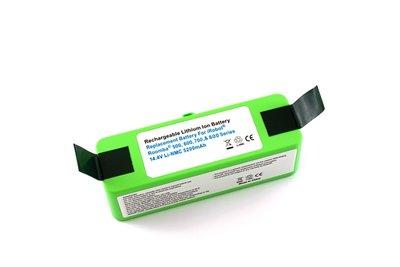 Li-ion, Lithium NMC accu, batterij voor Roomba 500-600-700-800-900 reeks, 5200 mAh