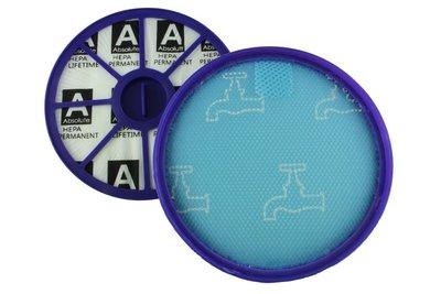 HEPA allergie filterset geschikt voor Dyson  DC19, DC20, DC21 en DC29