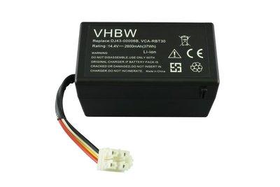 Li-ion accu/batterij, 2600mAh, voor Samsung Navibot SR8930-81, VCR8930-40 en VR10F71