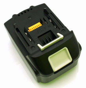makita powertool battery, 18V, top